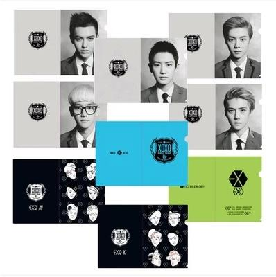 EXO A4 L-shaped File / Folder w/ Multiple Designs