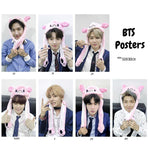 BTS 2019 Members with Rabbit Hat HD Poster