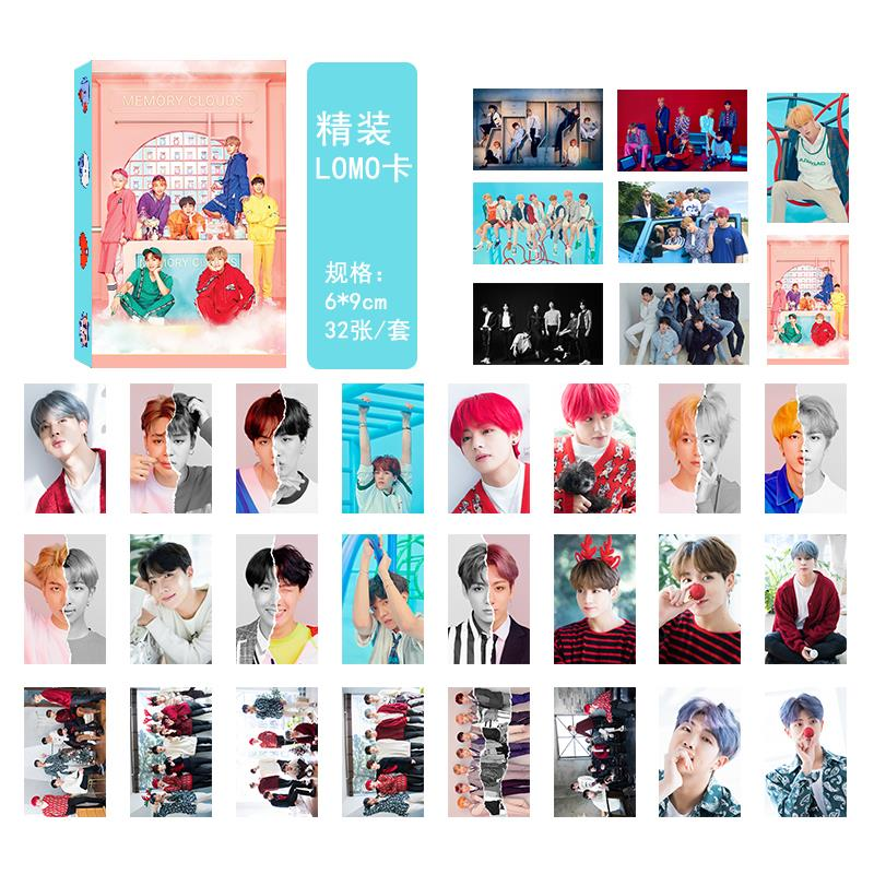 BTS Happily Ever After Collective PVC Lomo Cards 32pcs/set