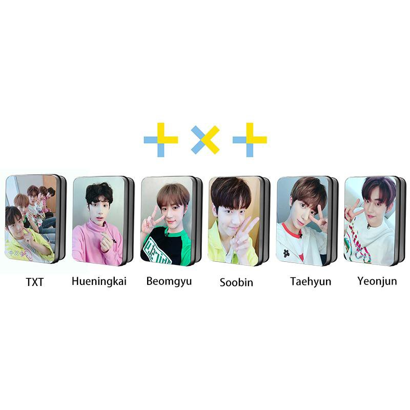 TXT Members Selfie PVC Polaroid Lomo Card 30pcs/set