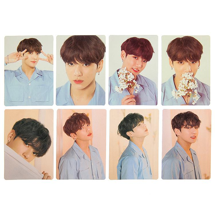 BTS Love Yourself Album Polaroid Lomo Card 8pcs/set