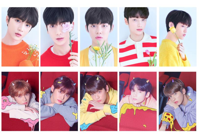 TXT All Members Transparent Lomo Card Collection 10pcs/set