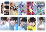 TXT Team Members Transparent Lomo Card Collection 10pcs/set
