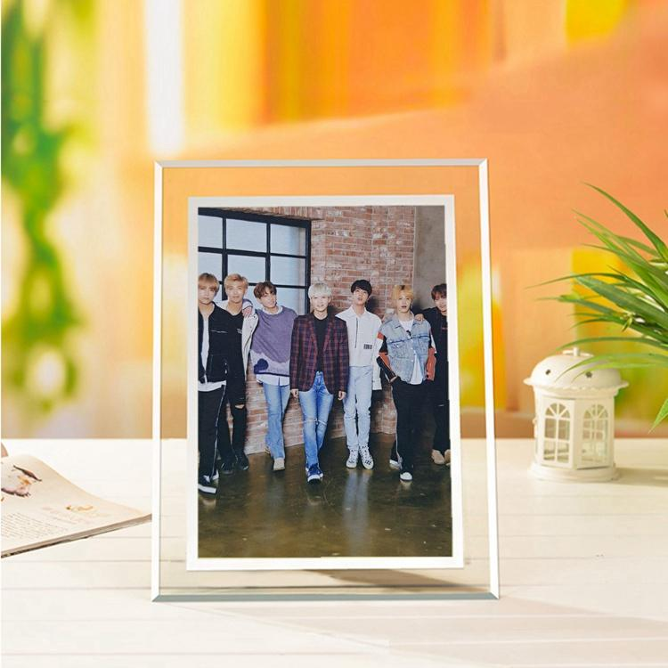 BTS Collective Members Korean-Style Crystal 5x7 Photo Frame w/ Multiple Designs