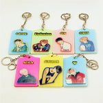 BTS Members Ez-Link Card Holder w/ Keychain Buckle or Lanyard