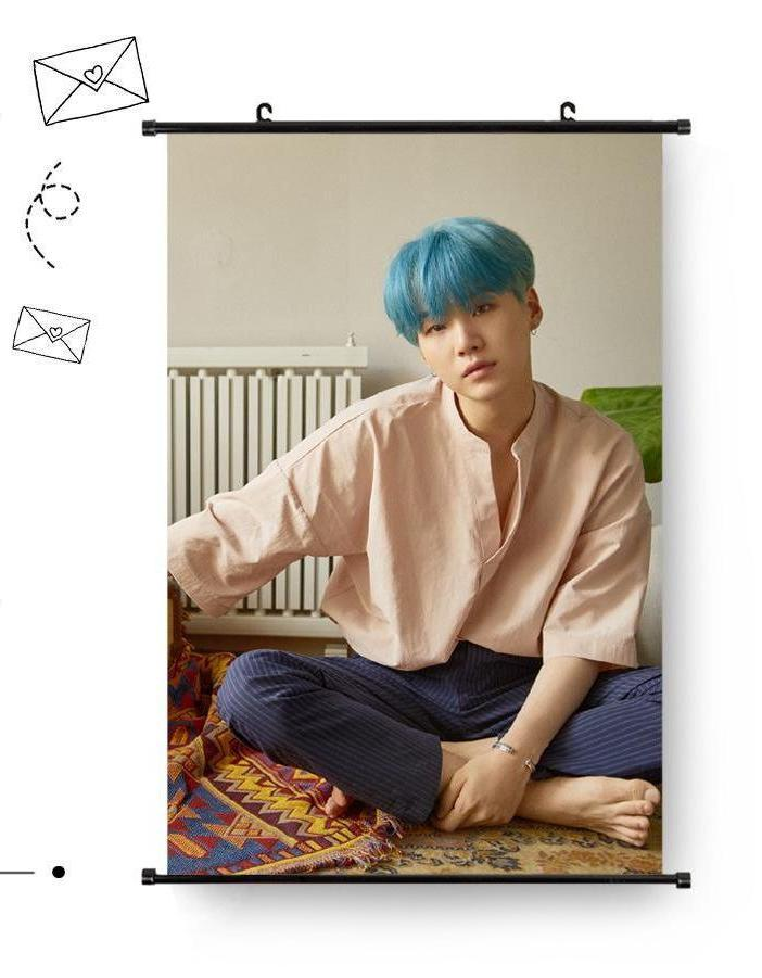 BTS Suga 60*40cm Big Hanging Poster / Wall Scroll
