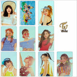 TWICE Summer Nights Album DOPE Crystal Card Stickers 10pcs/set