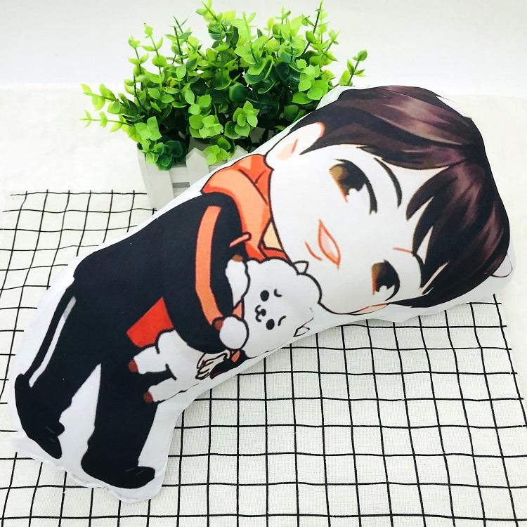 BTS Cartoon-Inspired Members 40CM Humanoid Shaped Pillow / Cushion 573876161996#3750598033681