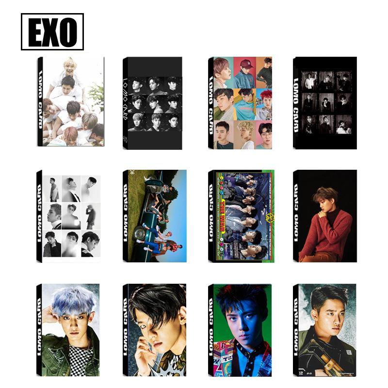 EXO THE WAR Collective and Individual Members PVC Lomo Cards 30pcs/set w/ Multiple Designs