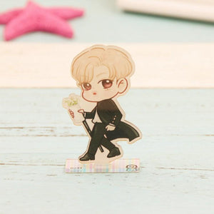 GOT7 Cartoon-Inspired Full Body Members Model Acrylic Stand  544487611311#3493167999115