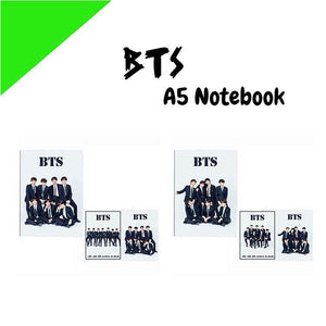 BTS A5 Diary Notebook w/ 3 Designs