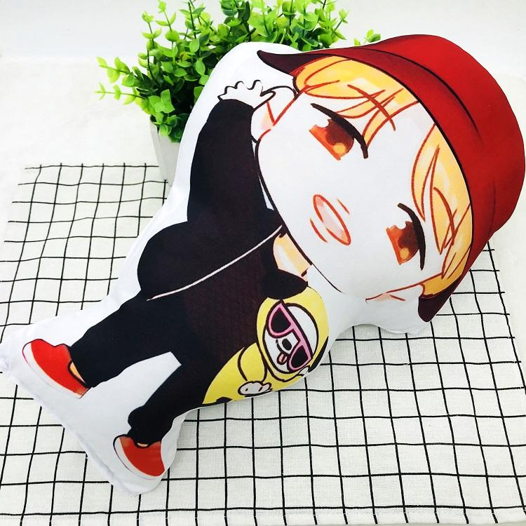 BTS Cartoon-Inspired Members 40CM Humanoid Shaped Pillow / Cushion 573876161996#3750598033682