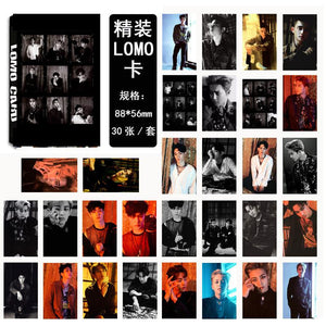 EXO THE WAR Collective and Individual Members PVC Lomo Cards 30pcs/set w/ Multiple Designs 559210528059#3650003046621