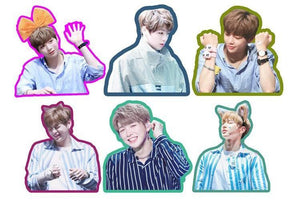 WANNA ONE Daniel Cute Photo Stickers for Scrapbook w/ Multiple Designs 560076065823#3662501798813