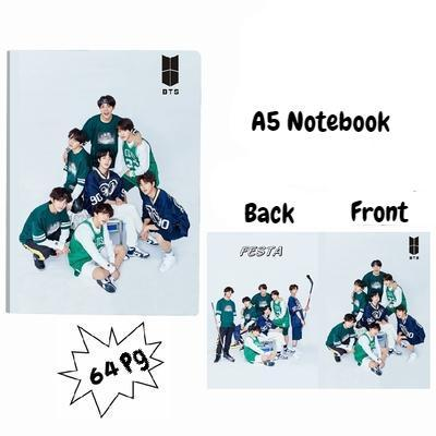 BTS A5 Diary Notebook w/ 3 Designs 572312547372#3717544201294