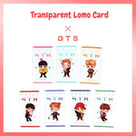 BTS Fifth Anniversary Transparent Lomo Card