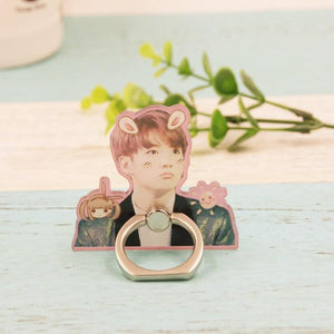 BTS Cute JungKook and J-Hope Mobile Phone Ring w/ Multiple Designs 551183136287#3366973273229