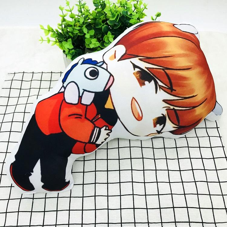BTS Cartoon-Inspired Members 40CM Humanoid Shaped Pillow / Cushion 573876161996#3750598033686