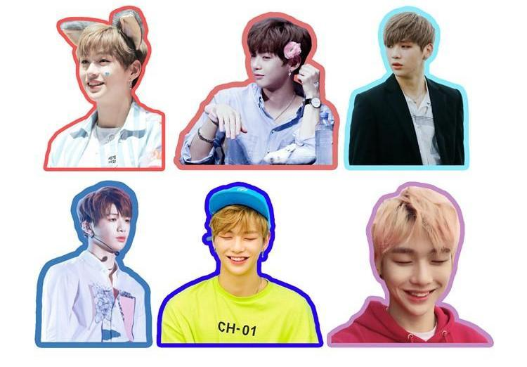 WANNA ONE Daniel Cute Photo Stickers for Scrapbook w/ Multiple Designs 560076065823#3662501798812