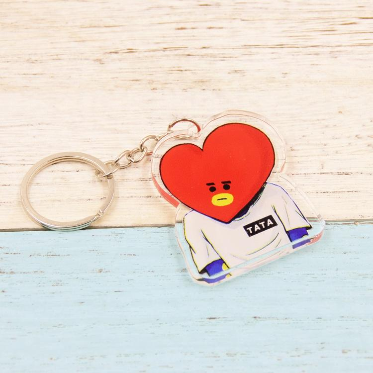 BTS BT21 Cute Characters in Sumo Double Sided Acrylic Keychain w