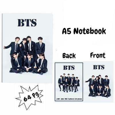 BTS A5 Diary Notebook w/ 3 Designs 572312547372#3717544201292