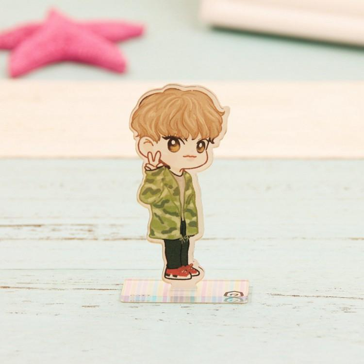 GOT7 Cartoon-Inspired Full Body Members Model Acrylic Stand  544487611311#3457376978893