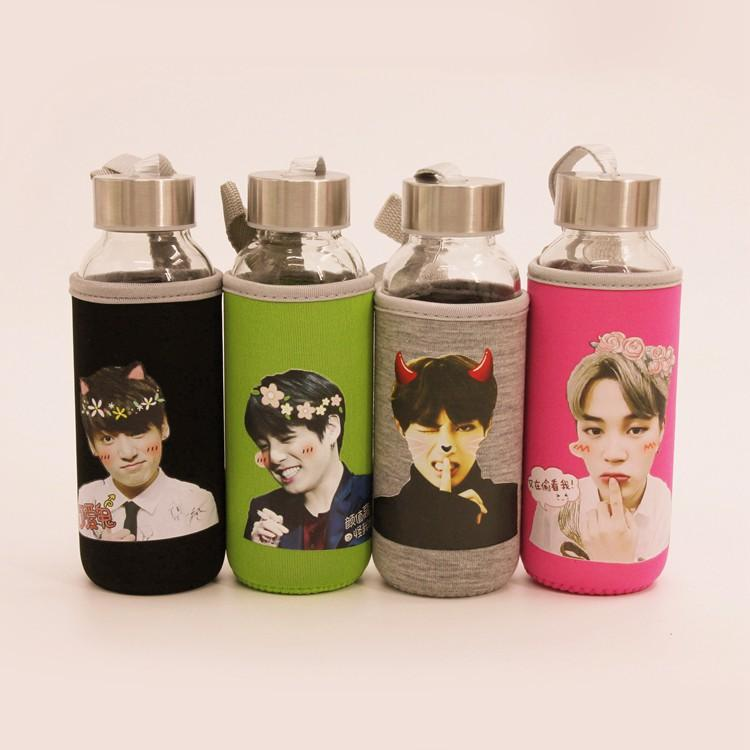 BTS Cute Members Thermo Hot Water Bottle