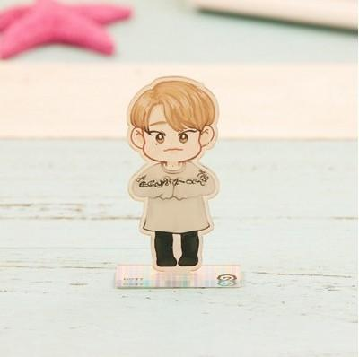 GOT7 Cartoon-Inspired Full Body Members Model Acrylic Stand  544487611311#3493167999116