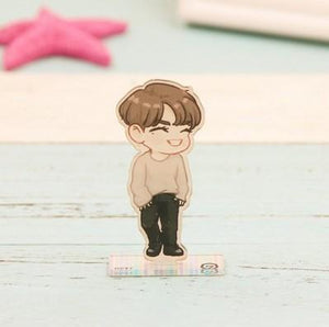 GOT7 Cartoon-Inspired Full Body Members Model Acrylic Stand  544487611311#3493167999117