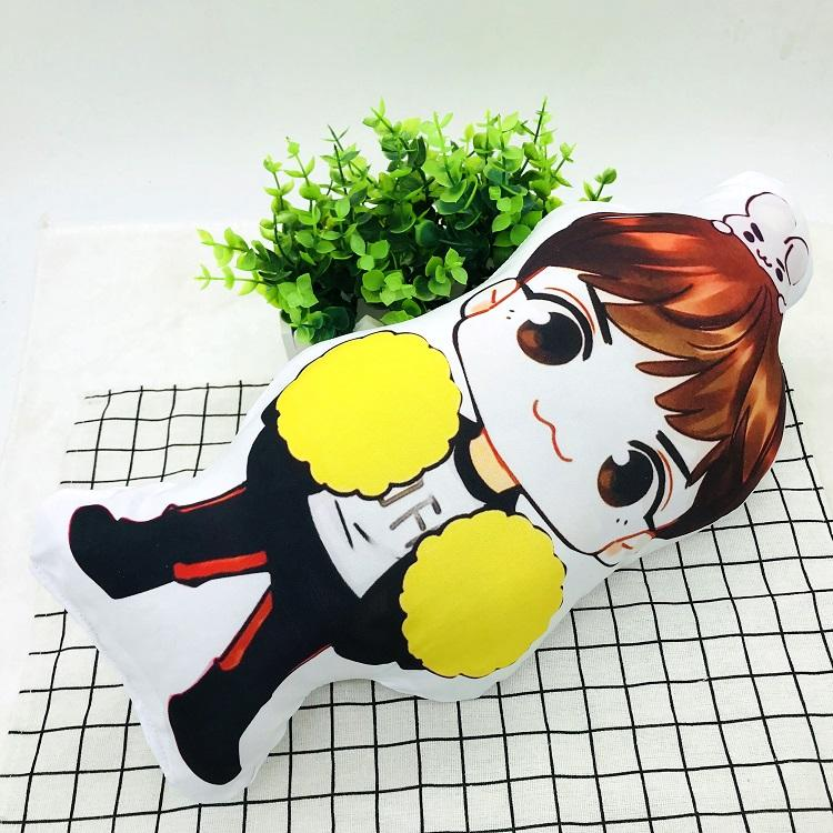 BTS Cartoon-Inspired Members 40CM Humanoid Shaped Pillow / Cushion 573876161996#3750598033680