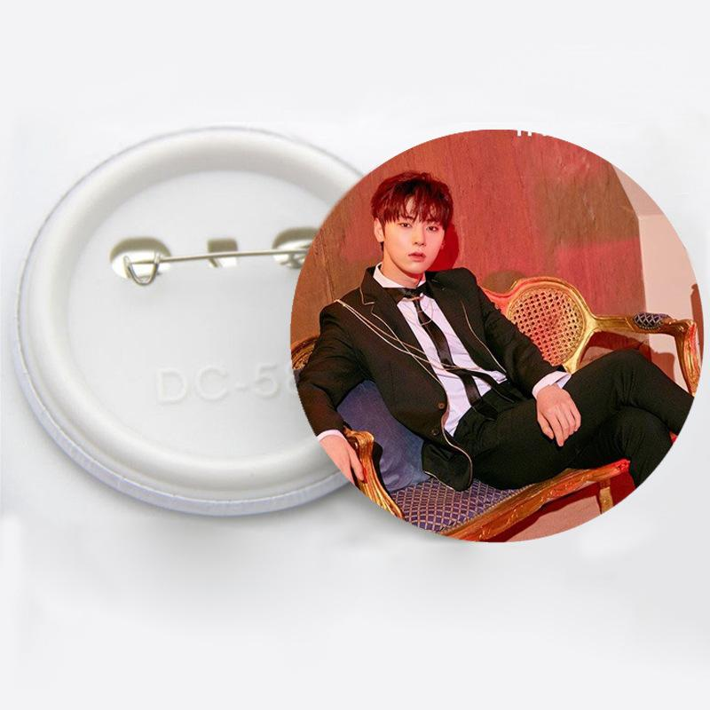 WANNA ONE Members Brooch Badges w/ Multiple Designs 574562722155#3927957083928