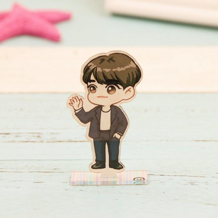 GOT7 Cartoon-Inspired Full Body Members Model Acrylic Stand  544487611311#3457376978896