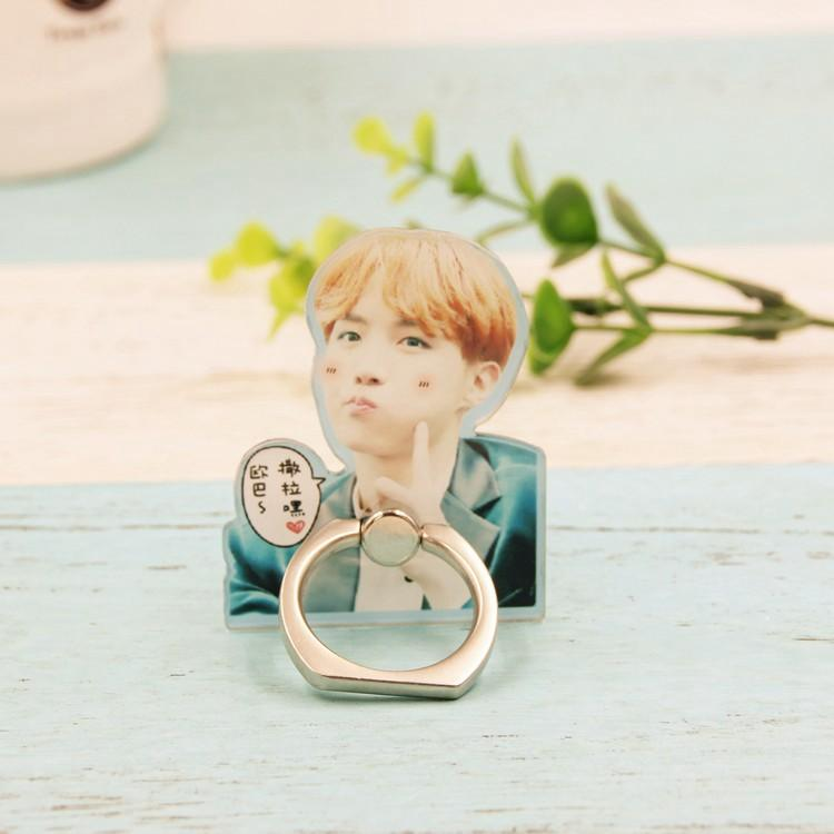BTS Cute JungKook and J-Hope Mobile Phone Ring w/ Multiple Designs 551183136287#3366973273235