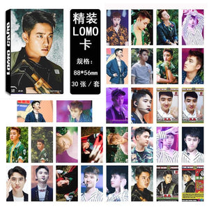 EXO THE WAR Collective and Individual Members PVC Lomo Cards 30pcs/set w/ Multiple Designs 559210528059#3650003046625