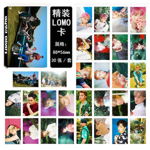 EXO THE WAR Collective and Individual Members PVC Lomo Cards 30pcs/set w/ Multiple Designs 559210528059#3650003046620