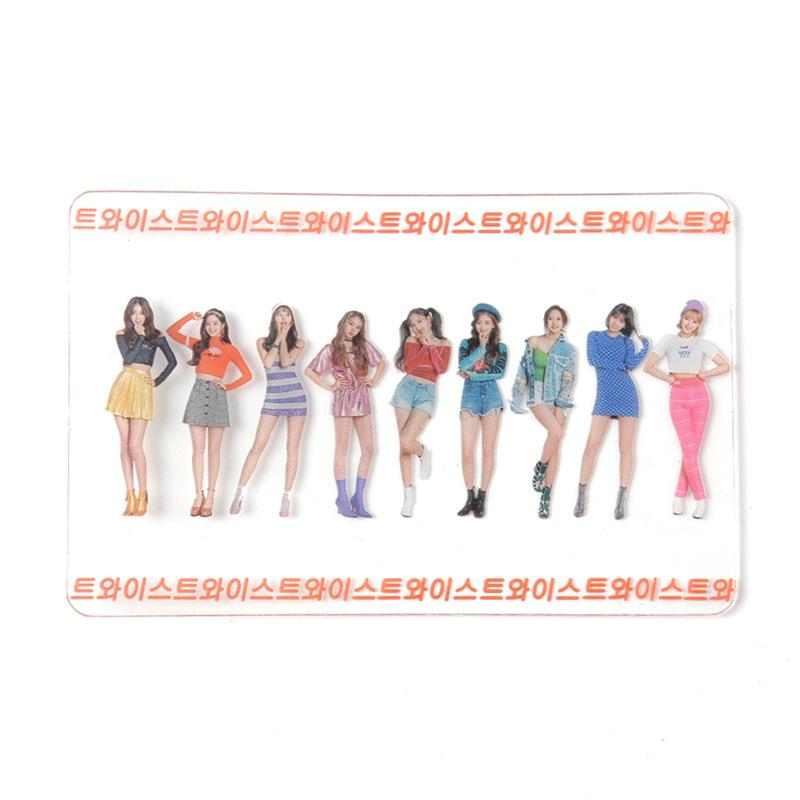 TWICE All Members Transparent Lomo Card