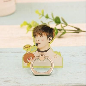 BTS Cute JungKook and J-Hope Mobile Phone Ring w/ Multiple Designs 551183136287#3366973273232