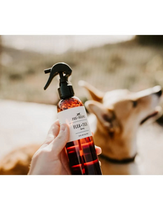 fox + hound: natural flea with tick spray (dogs)