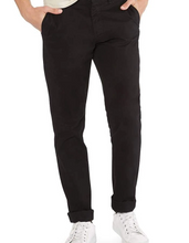 jachs ny: black bowie stretch chino pant