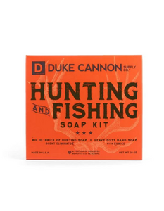 duke cannon: hunting and fishing