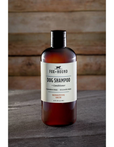 fox + hound: dog shampoo + conditioner - sensitive skin
