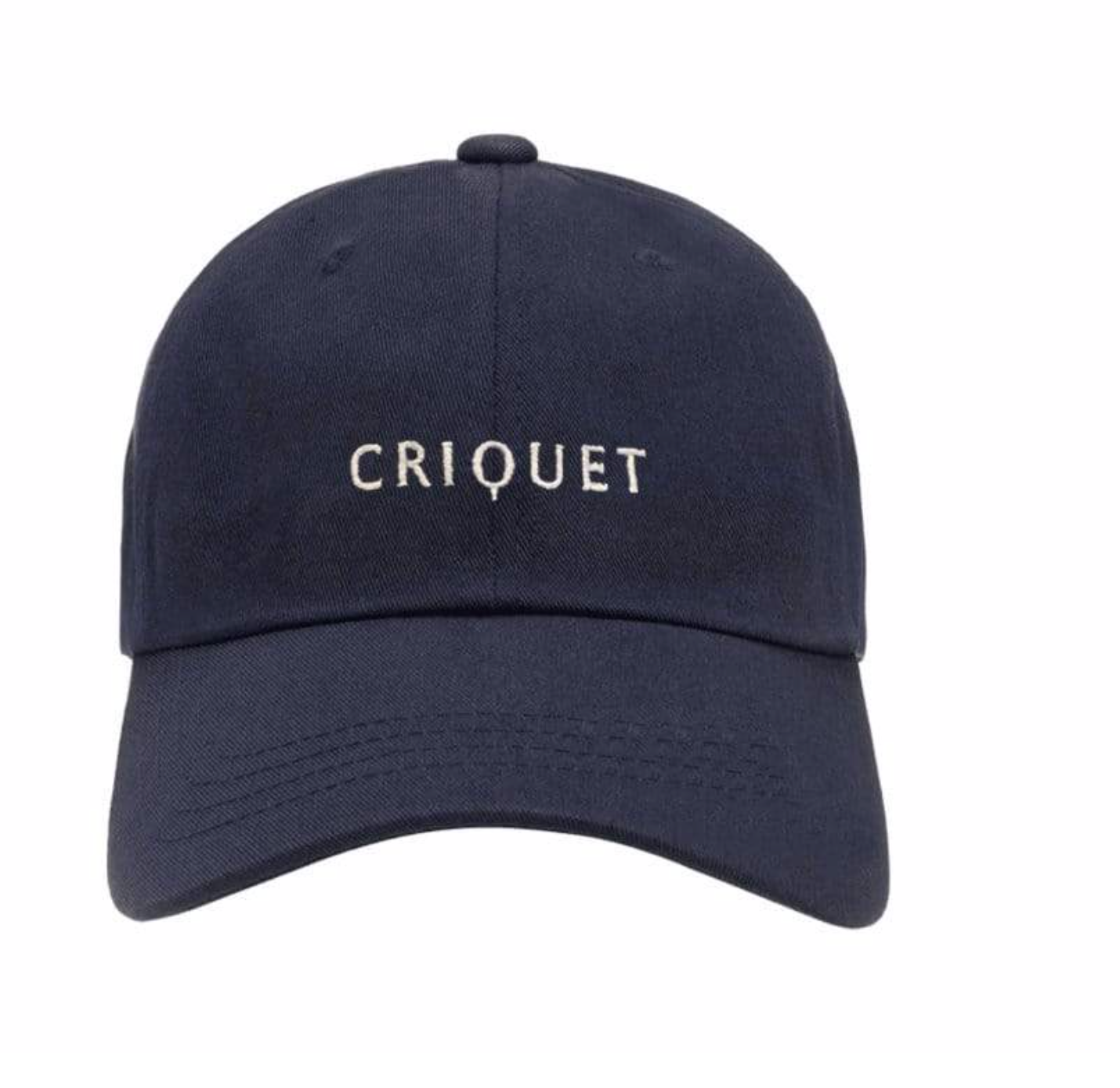 criquet: unstructured twill hat - navy