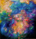 Art - Waterstudy 5 after Monet