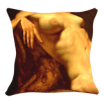 Nude Art Printed Cushion