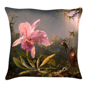 Floral Printed Art Cushion