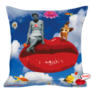 A Design Printed Art Cushion