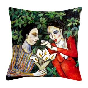 Lovers Printed Cushion