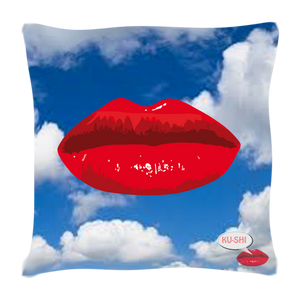 Pop Art Printed Cushion