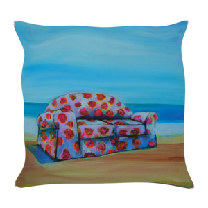 Retro Printed Cushion