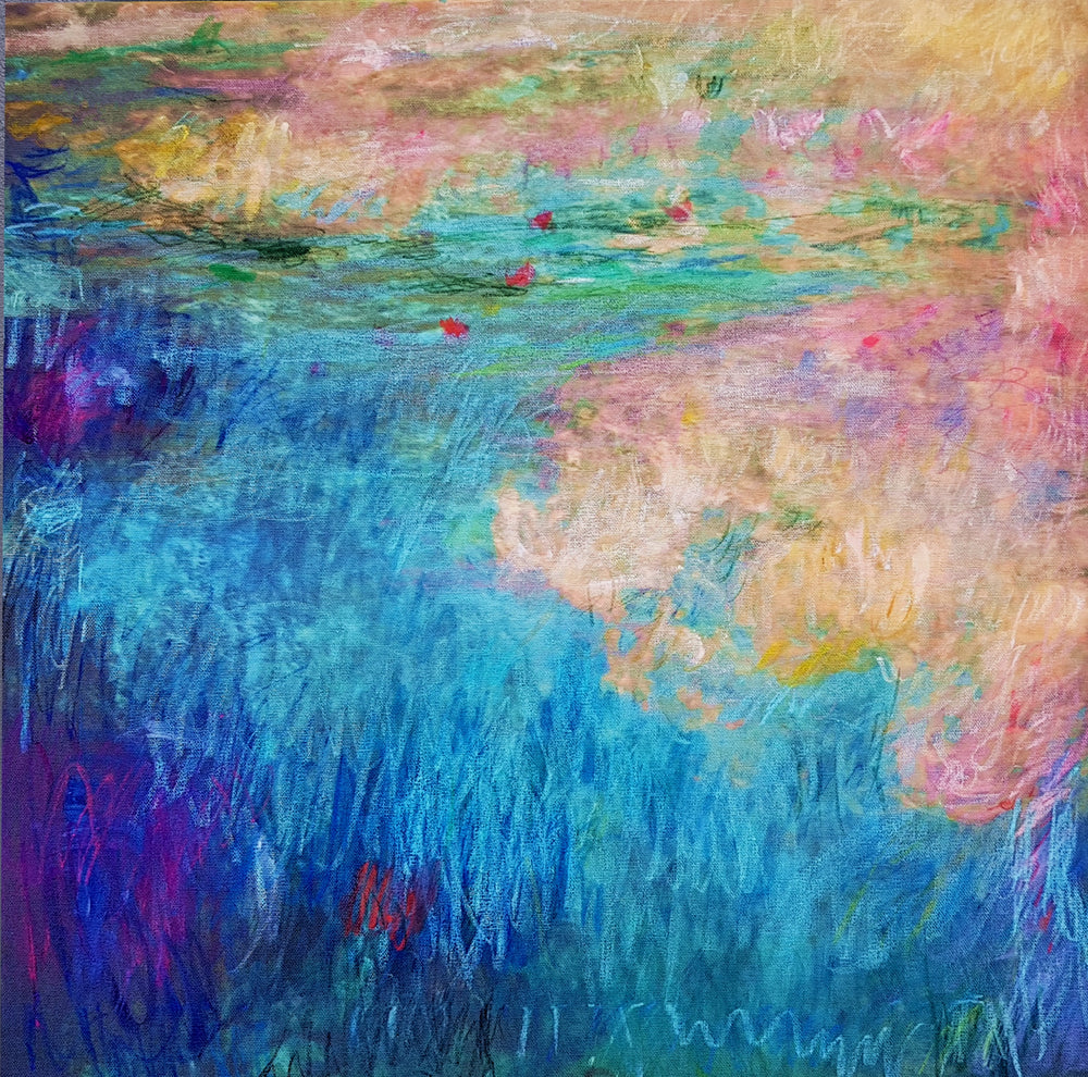 Art - Waterstudy 2 after Monet